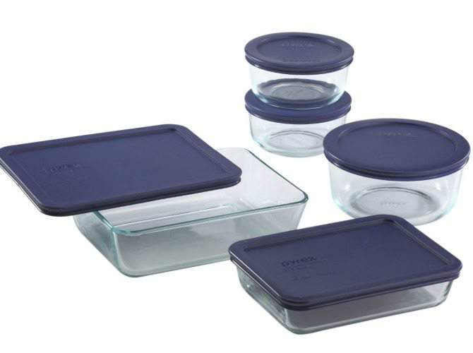 pyrex freezer containers