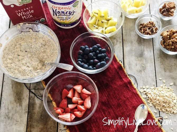 Overnight Oats Bar - Healthy Breakfast in a flash
