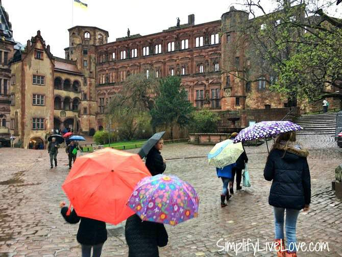 Tour of the Heidelberg Castle