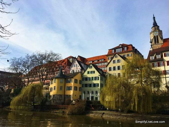 Tubingen, Germany. A beautiful town to visit on your vacation to Germany