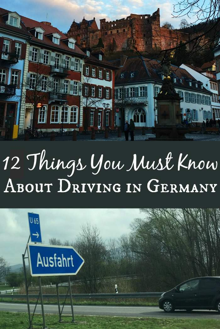 12 things you must know about driving in Germany to keep you safe, sane, and traffic ticket free.