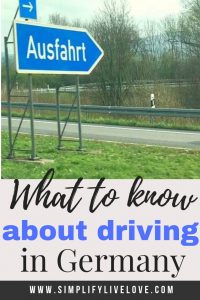 what to know about driving in germany