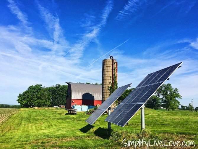 7 kw grid tied solar array