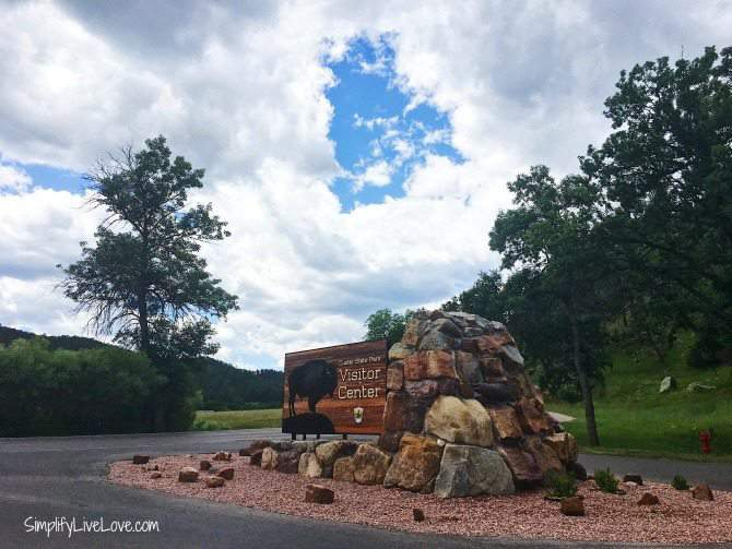 Custer State Park, South Dakota Visitor Center