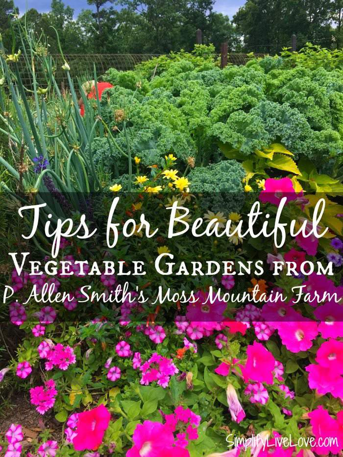 Tips For Beautiful Vegetable Gardens From P Allen Smith S Moss