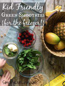 Green Smoothies your kids will love