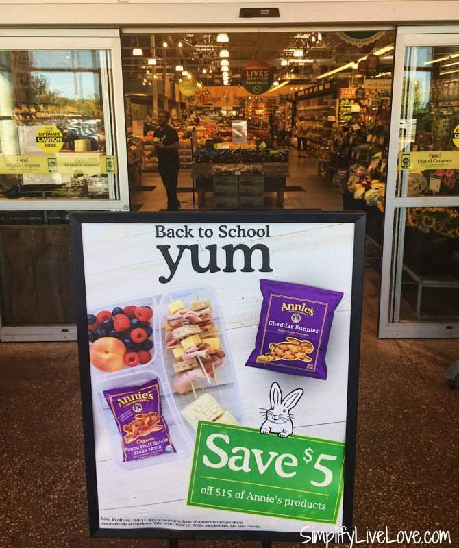 Save money on Annie's Homegrown at Whole Foods
