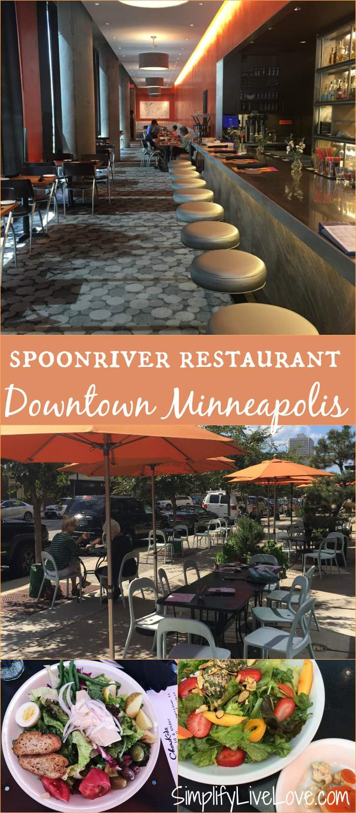 Spoonriver Restaurant . One of the most delicious Farm-to-Table Restaurants in the Twin Cities!