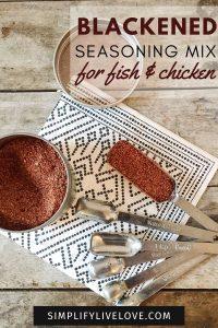 blackened seasoning mix for fish