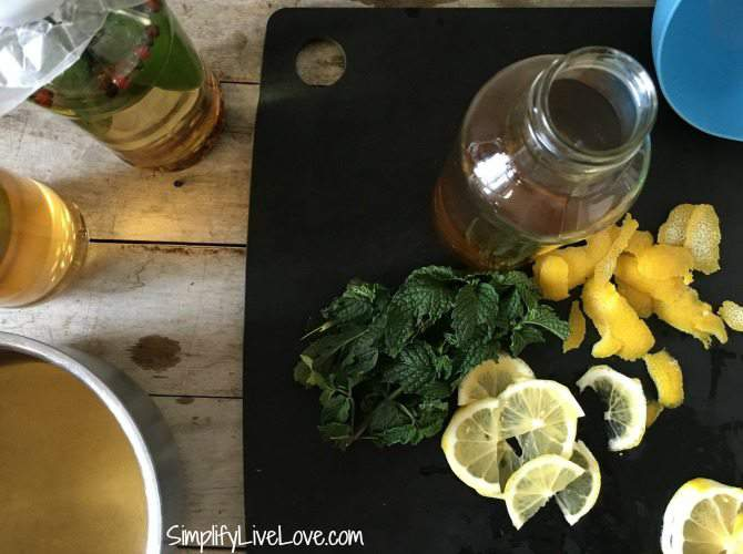 Gourmet Citrus Mint Vinegar