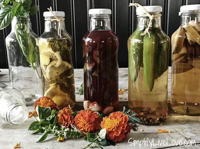 5 gourmet vinegars to make easily at home for Gourmet meals to make at home