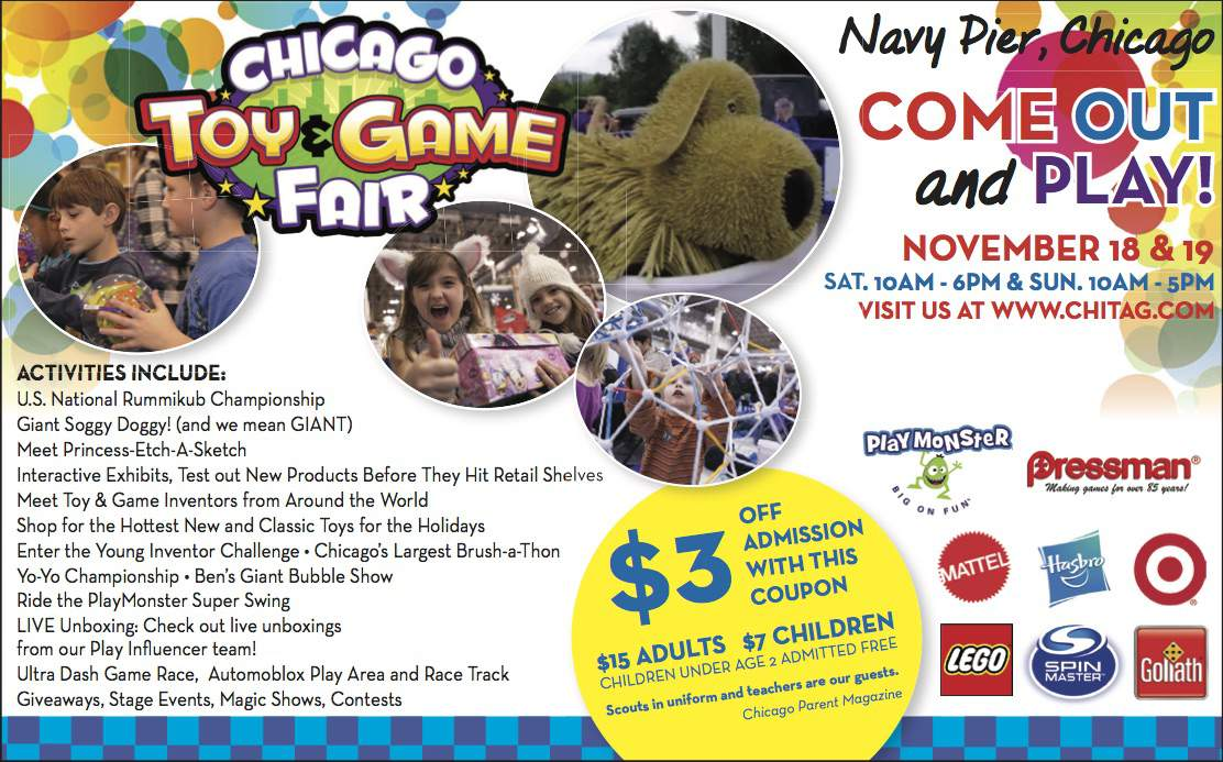 ChiTAG 2017 coupons and giveaway for family 4 pass