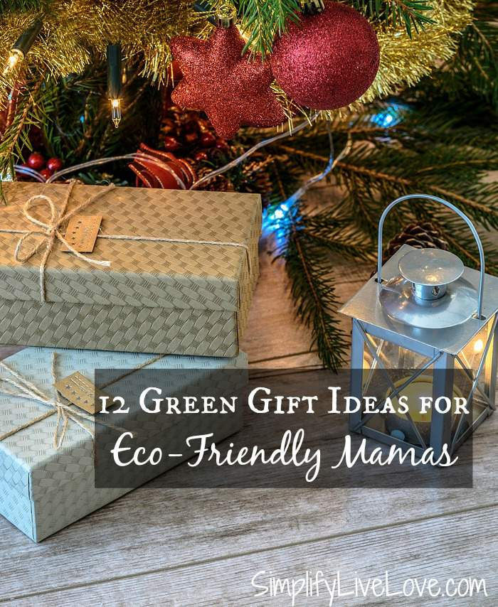 Do you consider yourself a crunchy mom or know someone who is? Here are 12+ green gift ideas for eco-friendly mamas to feel good about giving OR receiving!