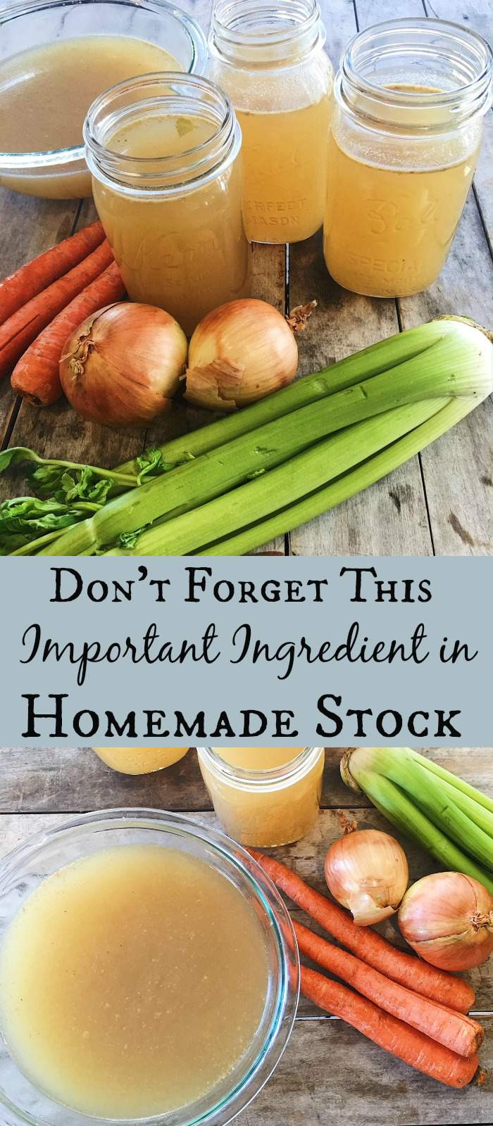 Homemade stock is so easy to make! Learn about the health benefits of homemade stock and how to make it here. Don't forget this important ingredient!