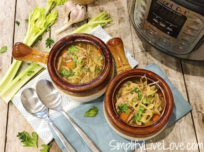 featured Chicken Noodle Soup Instant Pot Recipe