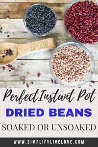 instant pot dried beans