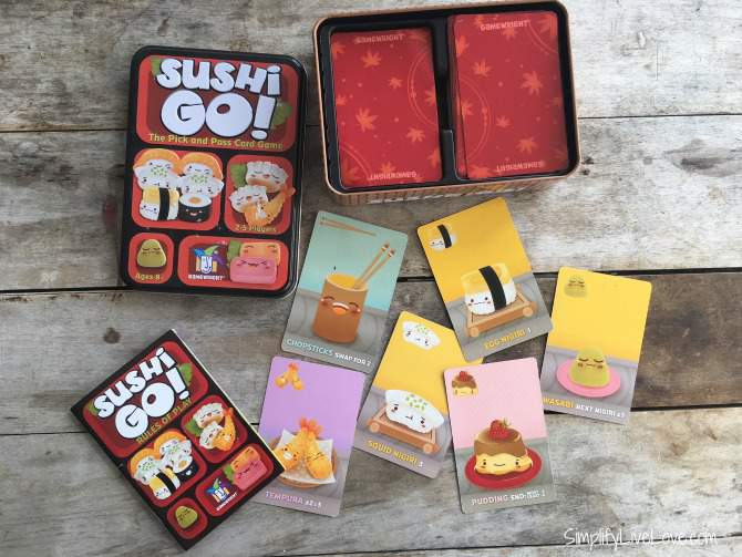 10 Easy &  Fun Games for Kids Sushi Go!