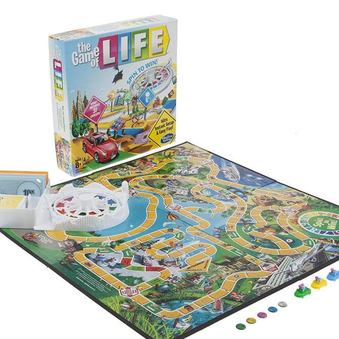 10 Easy & Fun Games for Kids - The Game of Life