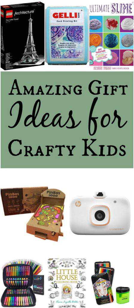 Looking for gift ideas for crafty kids 7+, this amazing guide will give you plenty of ideas! From books, to crafts, to games, you'll be inspired by this list!