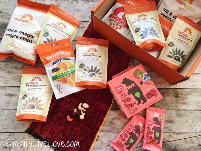 Day 4 $50 NatureBox giveaway!