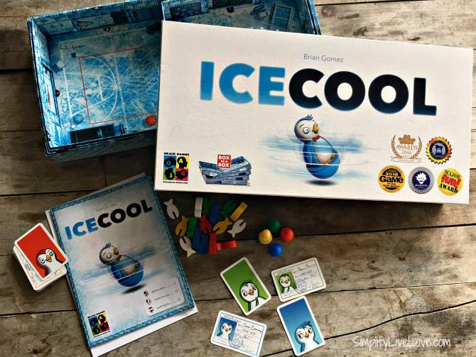 Ice Cool Board Game - fun family games
