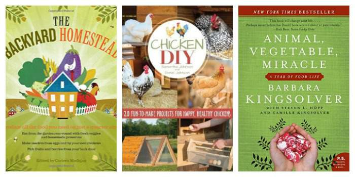 Inspirational Homesteading Books Every Home Library Needs!