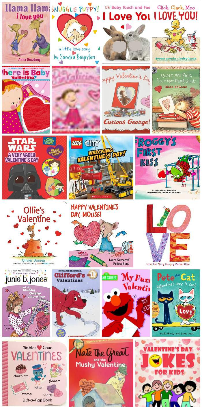 Looking for a few new Valentine's Day books this year? This list includes Valentine books for toddlers, Valentine books for preschoolers, and Valentine books for older elementary children as well! Enjoy sharing these lovely books with  your kiddos this Valentine's Day!