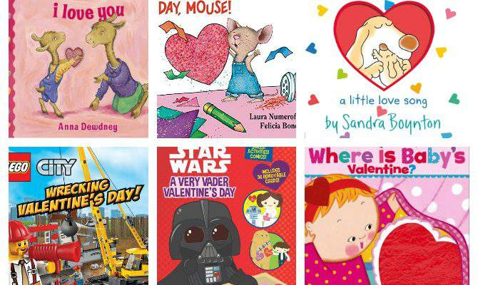 30+ Valentine's Day Books for Kids of All Ages!