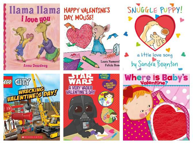 Valentine's Day Books to Read with Kids featured