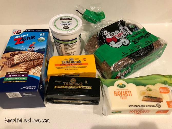 costco grocery haul 1