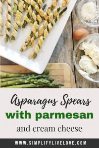 Cream Cheese & Parmesan Asparagus Spears Recipe