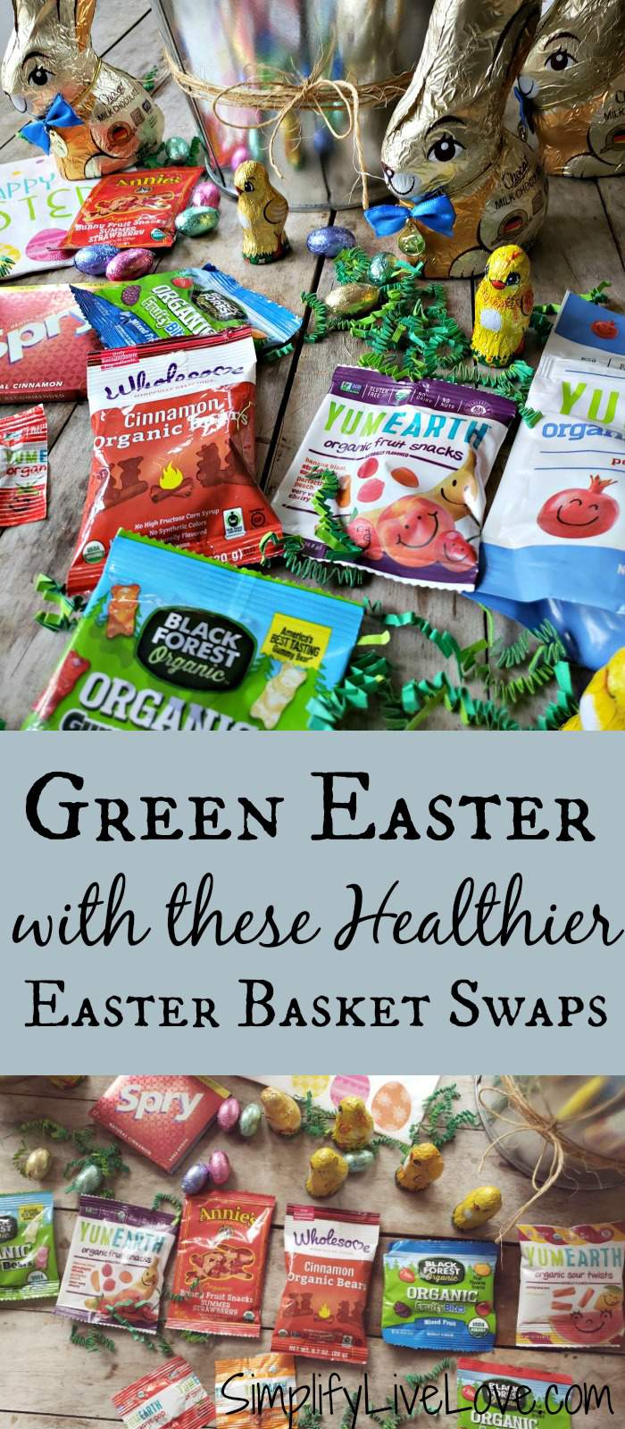 healthier Easter basket candy