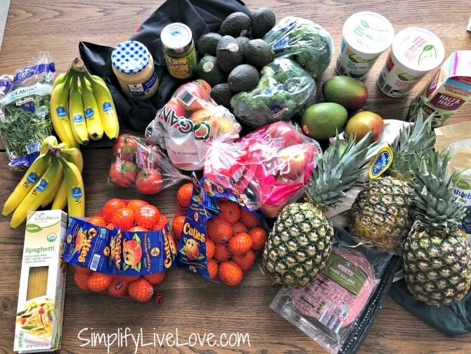 aldi grocery haul 2.6