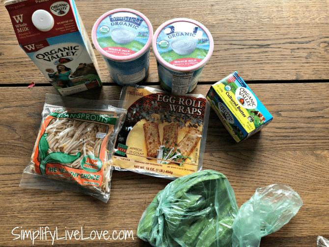 hyvee organic grocery haul