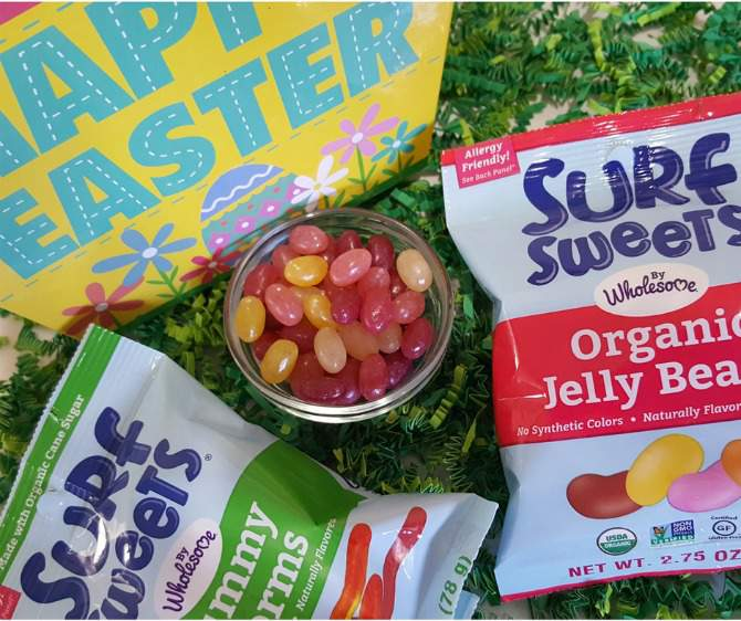 surf sweet organic jelly beans