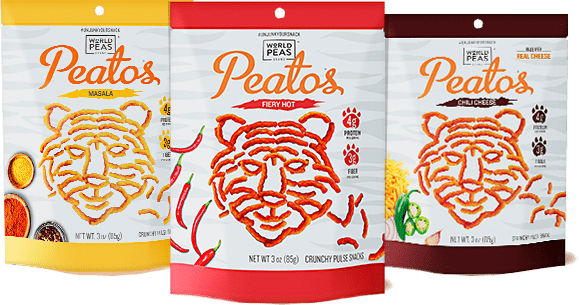 Peatos - healthier alternative to cheetos