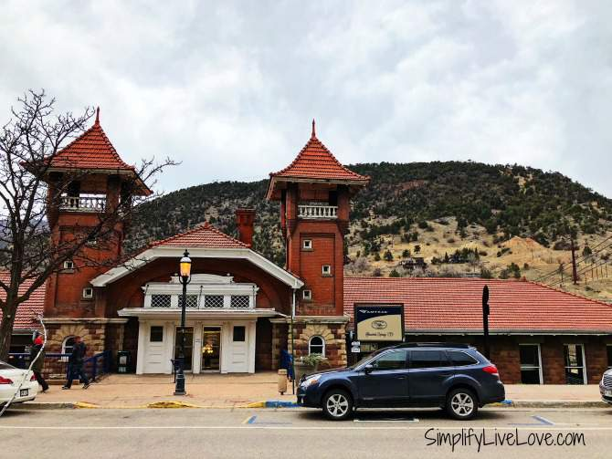 Amtrak Station in Glenwood Springs Co