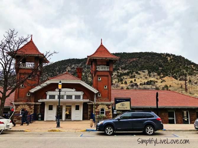 Amtrak Station in Glenwood Springs Co