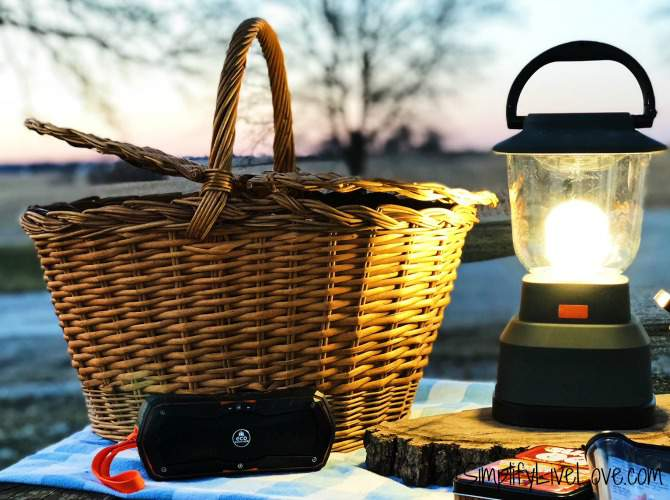 Eco Survivor Bluetooth Speaker and EcoSurvivor USB Lantern