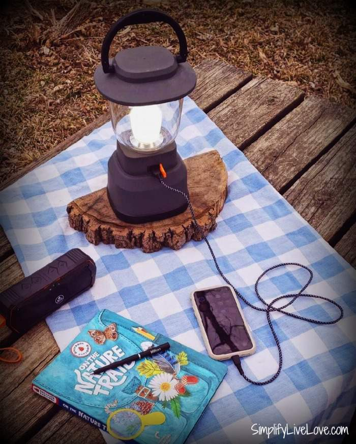 EcoSurvivor USB Lantern & Bluetooth Speaker by Jasco
