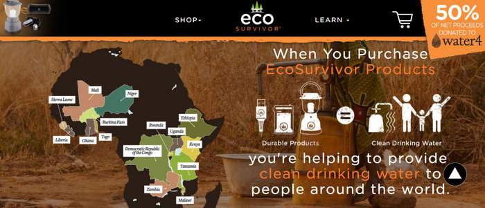 EcoSurvivor Water4 Purpose