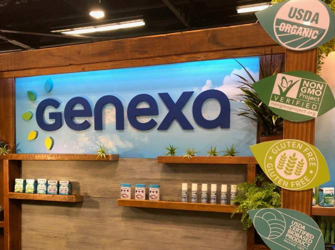 GENEXA one of my favorite natural products at expo west 2018