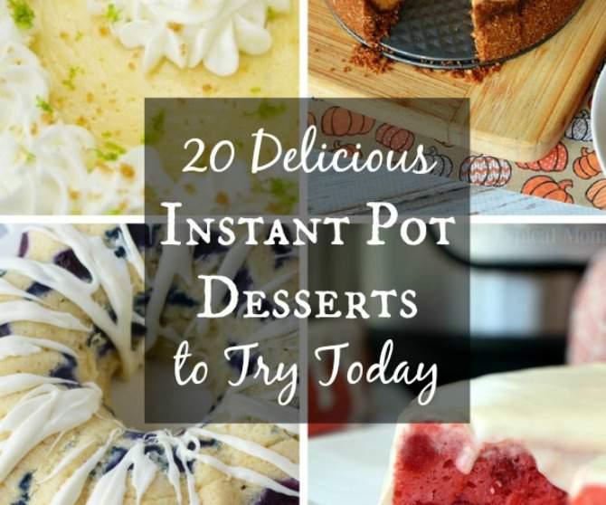 Instant Pot Desserts 670