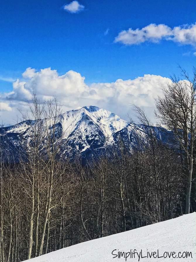 Mt Sopris from Sunlight Mountain Resort