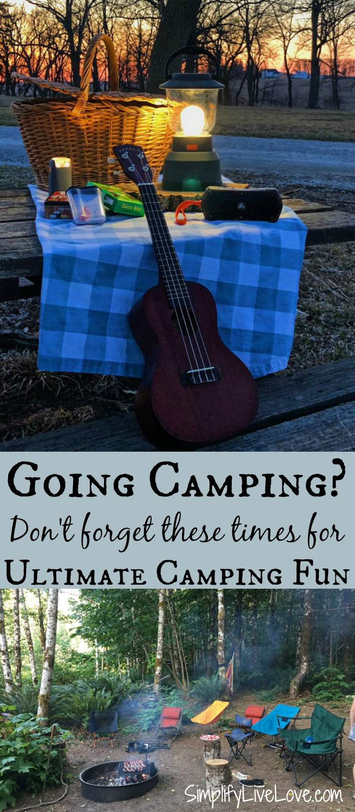 Must have items for fun camping trips