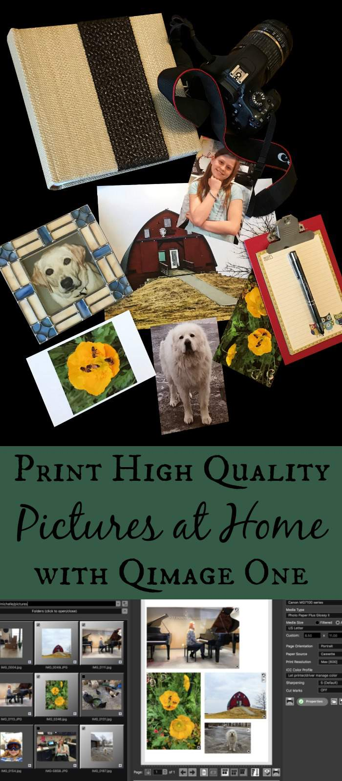 Print High Quality Pictures at Home with Qimage One