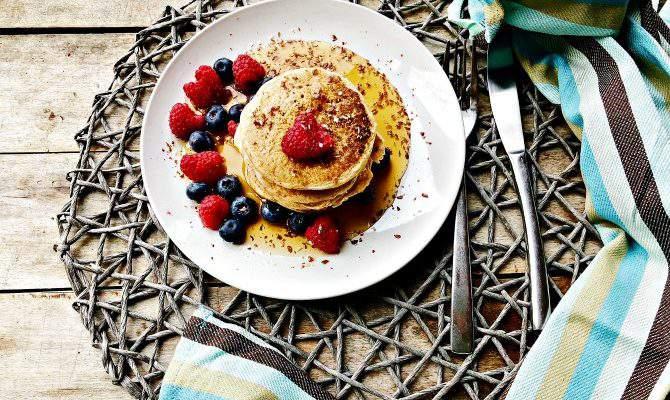Almond Milk Pancakes: Dairy Free Pancake Recipe + Giveaway