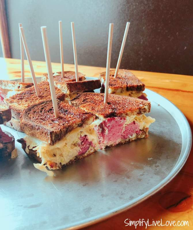 Blackstone Reuben from Cresent Moon Alehouse - one of my favorite Omaha Restaurants