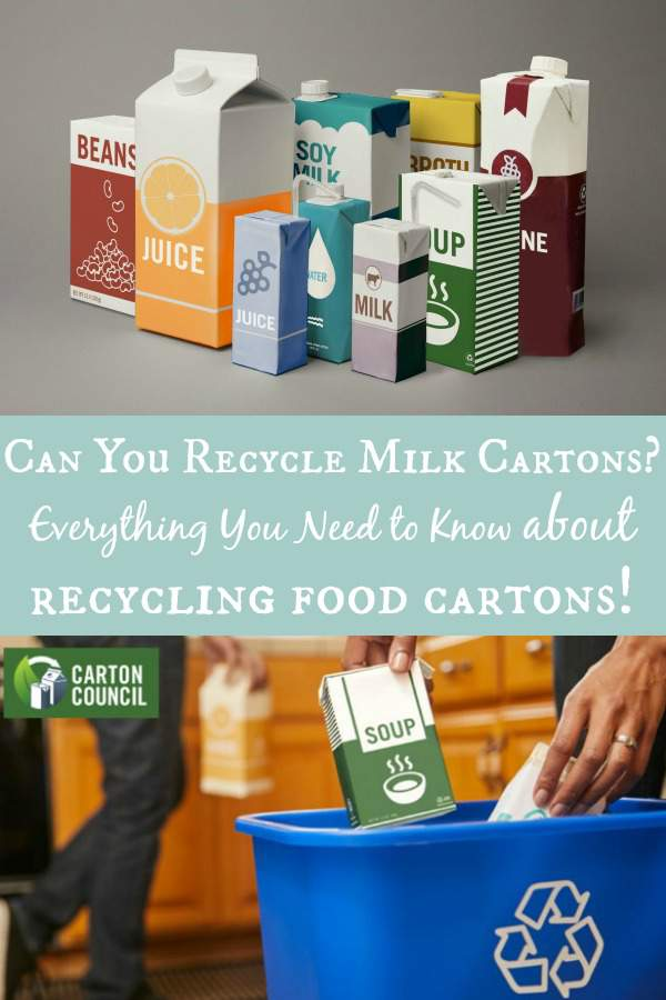 Can You Recycle Milk Cartons? Everything You Need to Know about recycling food cartons!