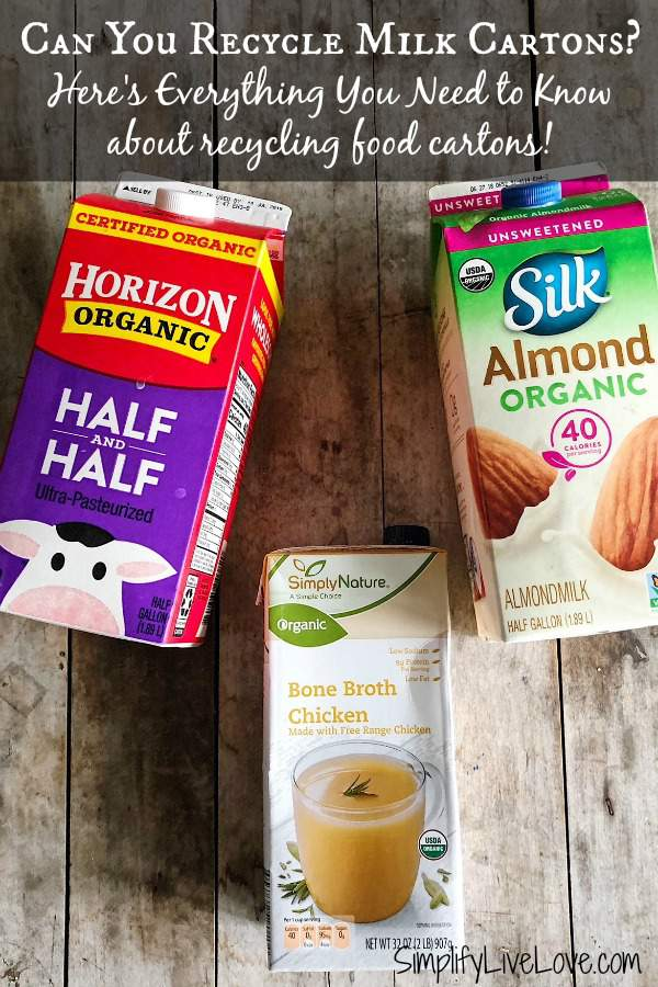Can you recycle milk cartons Here is everything you need to know about food carton recycling!